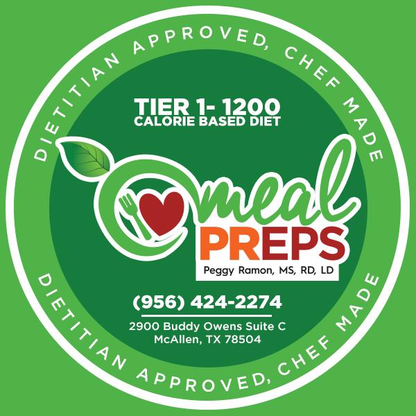 Tier 1- 1200 Calorie Based Diet