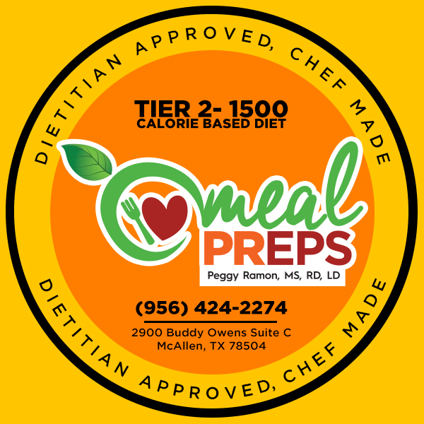 Tier 2- 1500 Calorie Based Diet